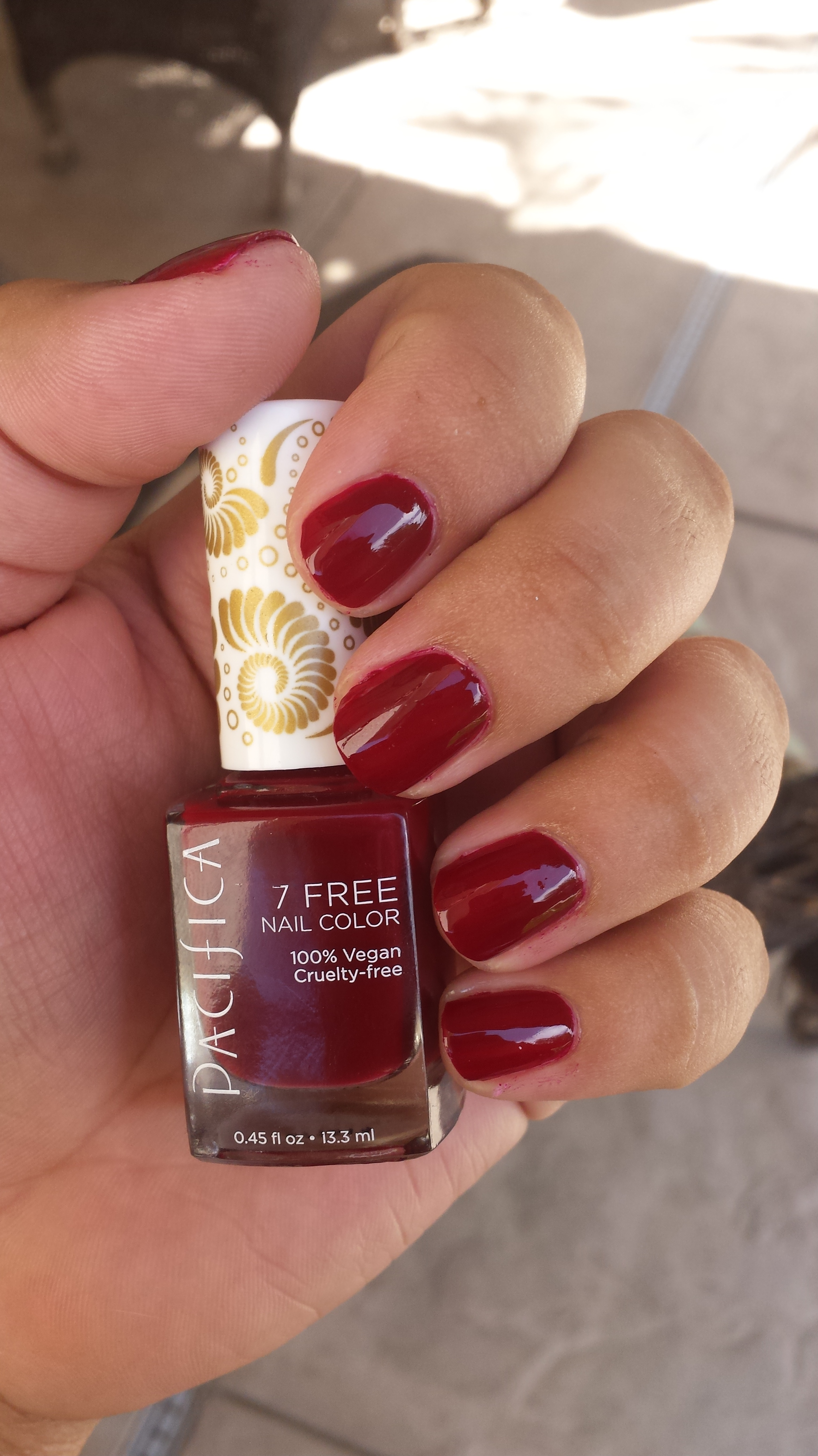 Product Review Pacifica Nail Polish In Red Red Wine Beauty Blogging Ari